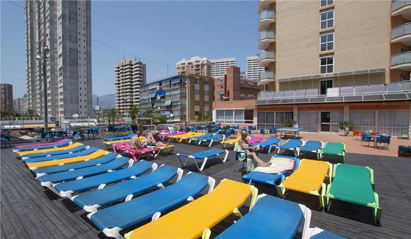 Бенидорм отель испания